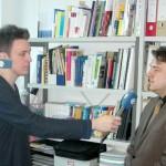 Im Interview mit Sat.1: Dr. Christian Muschwitz (Foto: raumkom)