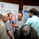 Bürgerdialog Seilbahn Bonn: Auch Medien zeigen Interesse (Foto: raumkom)