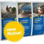 Jetzt geht die Radlust-Ausstellung mit neuen Motiven wieder auf Wanderschaft (Abbildung: raumkom)