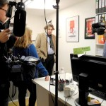 Dr. Christian Muschwitz im SWR-Interview zu ECE-Einkaufszentren (Foto: raumkom)
