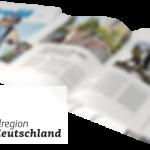 Eine Fahrradbroschüre für Mitteldeutschland – raumkom berät und setzt um (Abbildung: raumkom)